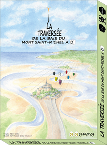 La traversée de la baie du Mont Saint-Michel à D