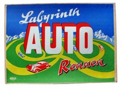Labyrinth Auto Rennen