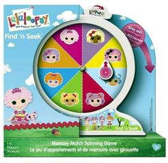 Lalaloopsy: Find 'N Seek – Memory Match Spinning Game