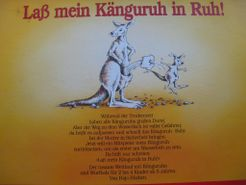 Lass mein Känguruh in Ruh!