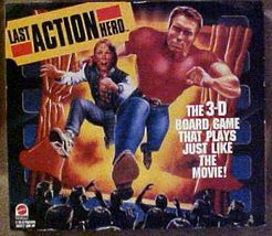 Last Action Hero 3-D board game