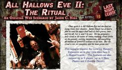 Last Night on Earth 'All Hallows Eve II: The Ritual' Scenario