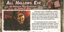 Last Night on Earth 'All Hallows Eve' Scenario