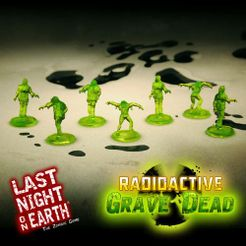 Last Night on Earth 'Radioactive Grave Dead' Supplement