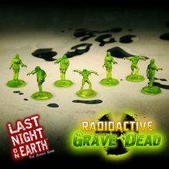 Last Night on Earth 'Radioactive Grave Dead' Supplement