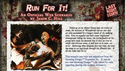 Last Night on Earth 'Run For It!' Scenario