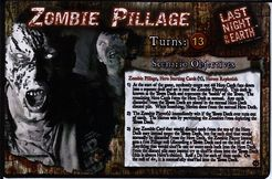 Last Night on Earth 'Zombie Pillage' Supplement