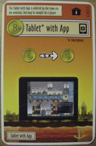 Le Havre: Le Grand Hameau – Tablet with App