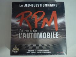 Le jeu questionnaire RPM: L'univers de l'automobile
