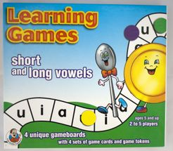 Learning Games short and long vowels