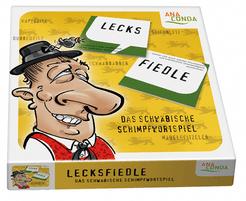 Lecksfiedle: Das schwäbische Schimpfwortspiel