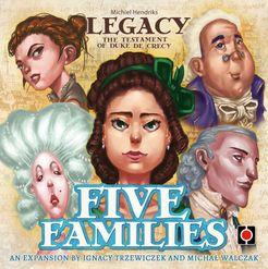 Legacy: The Testament of Duke de Crecy – Five Families