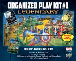 Legendary: A Marvel Deck Building Game – Organized Play Kit #1