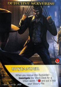 Legendary: A Marvel Deck Building Game – Promo Card Detective Wolverine Heroic Bystander