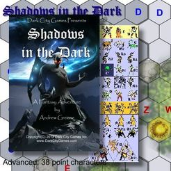 Legends of the Ancient World: Shadows in the Dark