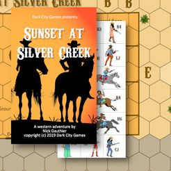 Legends of the Untamed West: Sunset at Silver Creek