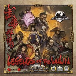 Legends of the Wulin Board-Game
