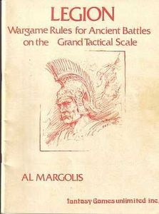 Legion: Wargame Rules for Ancient Battles on the Grand Tactical Scale