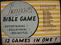 Lemon's Bible Game