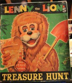 Lenny the Lion's Treasure Hunt