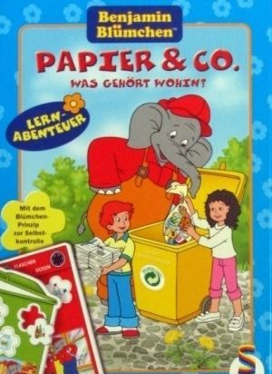 Lernabenteuer Papier & Co., Was gehört wohin?