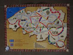 Les Aventuriers du rail en Belgique (fan expansion to Ticket to Ride)
