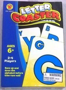 Letter coaster