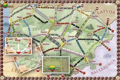 Lietuva (fan expansion for Ticket to Ride)