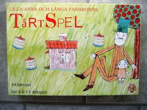 Lilla Anna och Långa Farbrorns Tårtspel