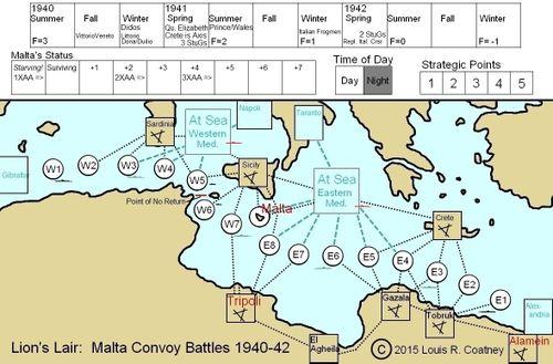 Lion's Lair:  Malta Convoy Battles 1940-42