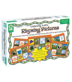 Listening Lotto: Rhyming Pictures