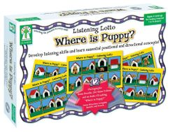 Listening Lotto: Where is Puppy?