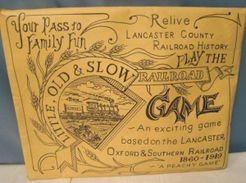 Little, Old & Slow Railroad Game