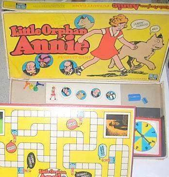 Little Orphan Annie Pursuit Game