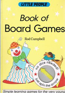 Little People Book of Board Games