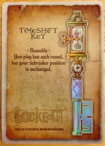 Locke & Key: Timeshift Key Foil Promo Card