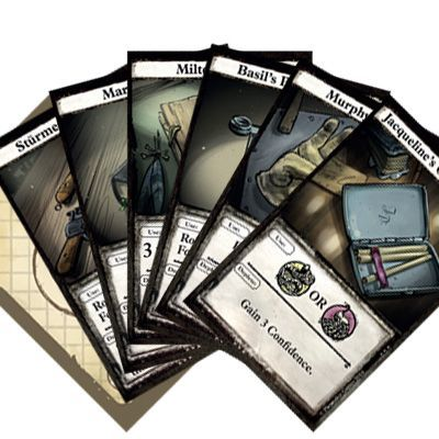 London Dread: Essen 2016 Character Item Promos