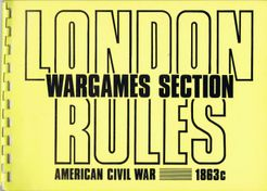 London Rules Wargames Section American Civil War 1863c