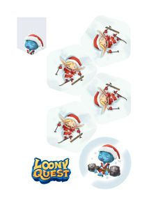Loony Quest: Bonusplättchen Skier
