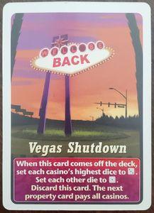 Lords of Vegas: Underworld – Vegas Shutdown Promo Card