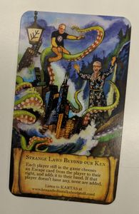 Lost in R'lyeh: Strange Laws Beyond Our Ken Promo Card