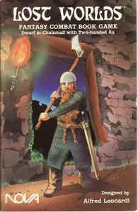 Lost Worlds: Dwarf in Chainmail with Two-handed Ax