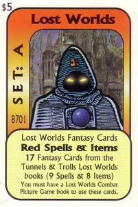 Lost Worlds Fantasy Cards