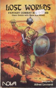 Lost Worlds: Giant Goblin With Mace and Shield