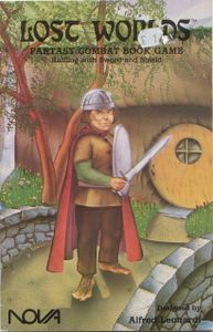 Lost Worlds: Halfling with Sword and Shield