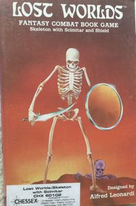 Lost Worlds: Skeleton with Scimitar and Shield