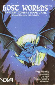 Lost Worlds: Winged Gargoyle with Scimitar