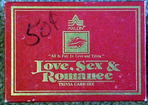 Love, Sex and Romance Trivia Card Set