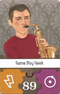 Lovelace & Babbage: Game Boy Geek Season 7 Patron Card