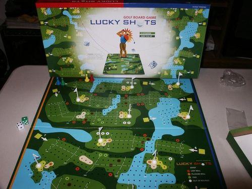 Lucky Shots Golf Board Game